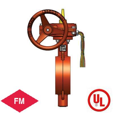 UL FM Approved Butterfly Valves