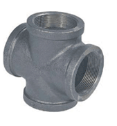 Reducing Cross--Malleable Iron threaded fittings