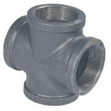 Cross-Ductile iron threaded fittings