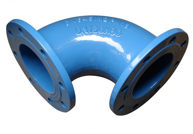 Double Flange Bend 90°